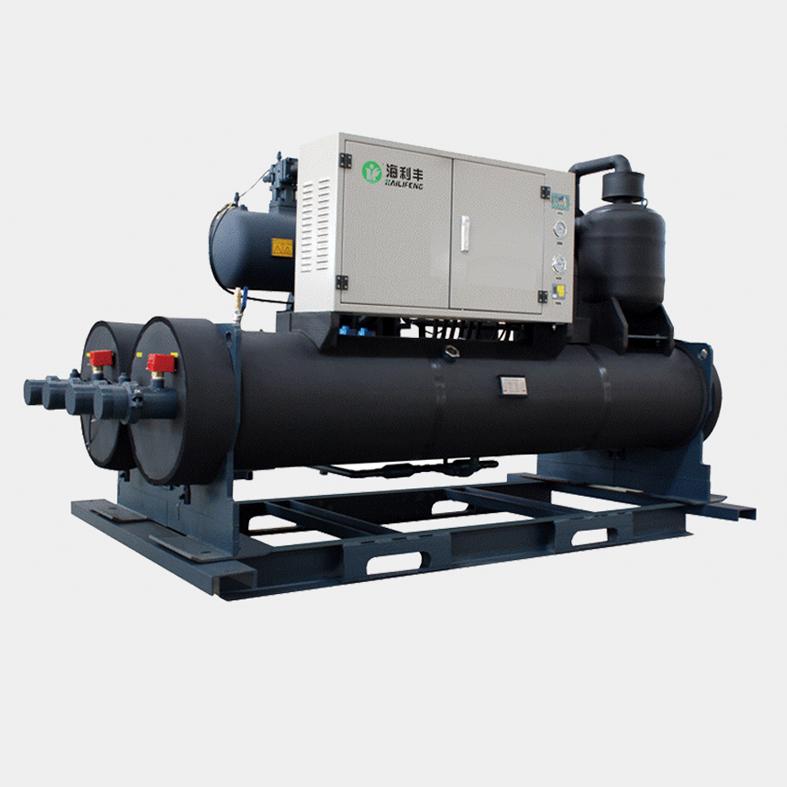 海水源双螺杆热泵机组系列