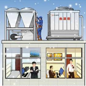 热源塔热泵系统