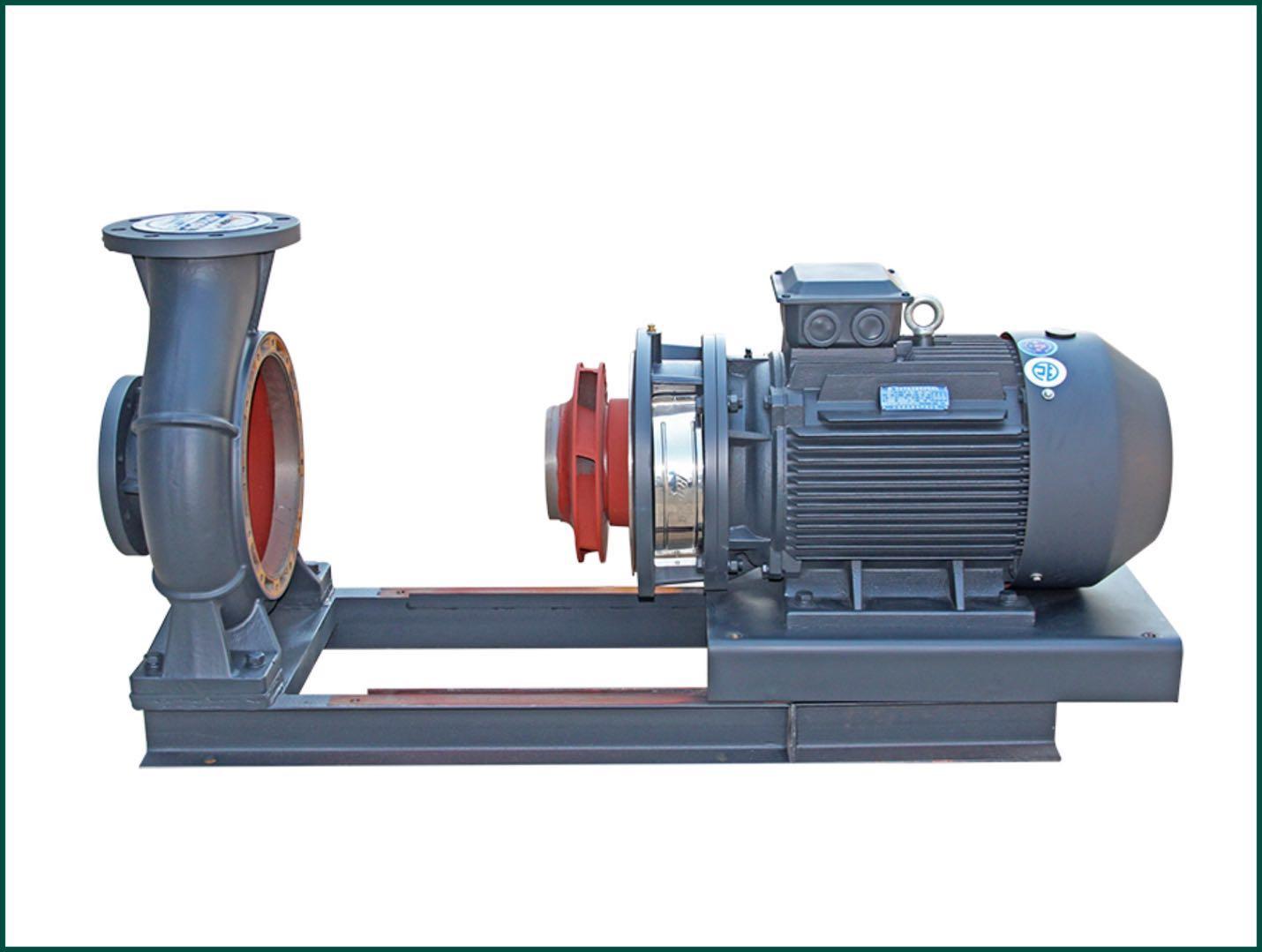 便拆式高效节能泵