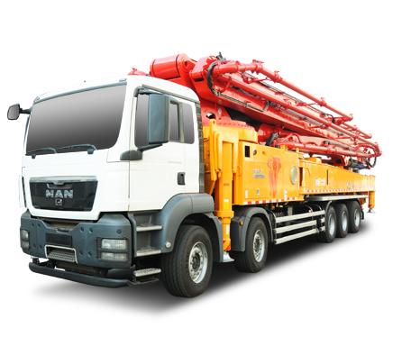 C9系列混凝土泵车SY5541THB 660C-9