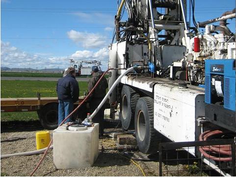 美国贝科城地能热泵系统