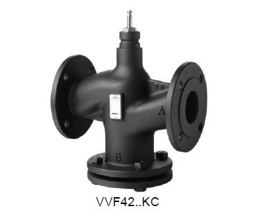 西门子直行程调节阀VVF42.65