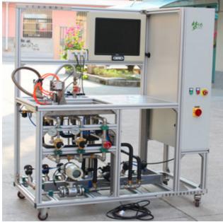 水流量传感频率-流量特性测台