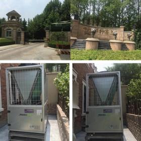 保利垄上别墅区采用高温热泵